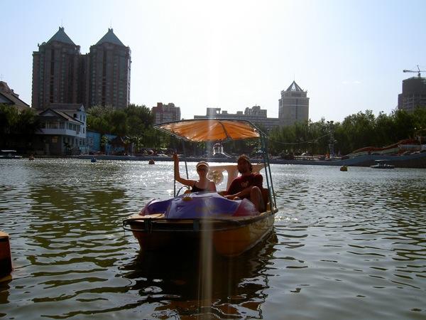 Beijing-style mini yacht