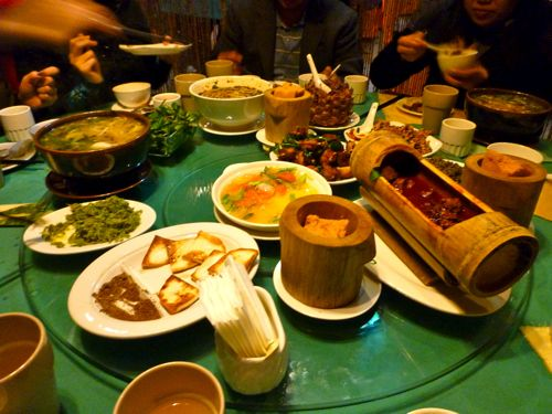 Now that's a shangrila worthy feast